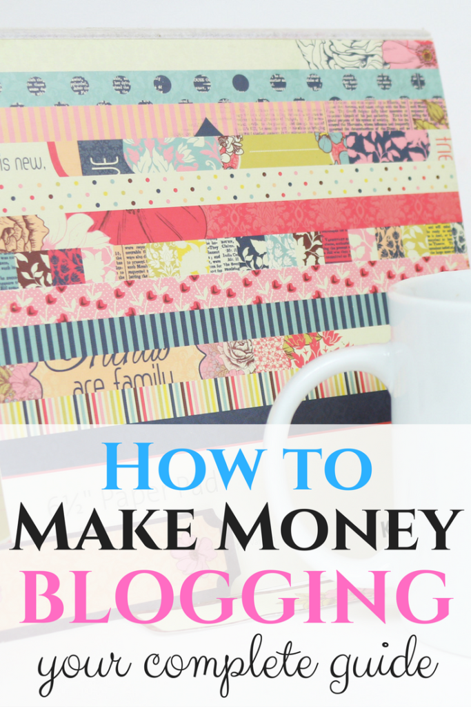 How to make money blogging earn thousands from home the for How to build a blog